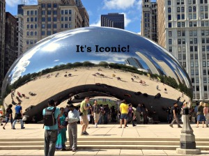 Iconic Bean Sculpture
