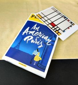 An American in Paris and Piet Mondrian's Trafalgar Square