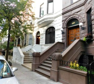 Brownstones steps