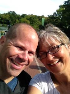 Central Park selfie