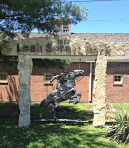 Pony Express Sculpture