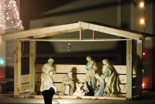 Nativity scene Overland Park Kansas