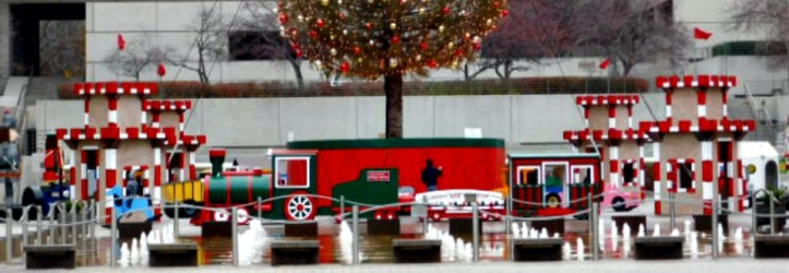 Crown Center Christmas outdoor display