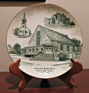 Armourdale church plate