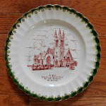 St. Pauls church plate