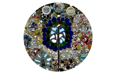 Bowl Plaza mosaic