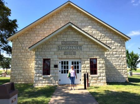 Nicodemus Township Hall, National Historic Site, Kansas