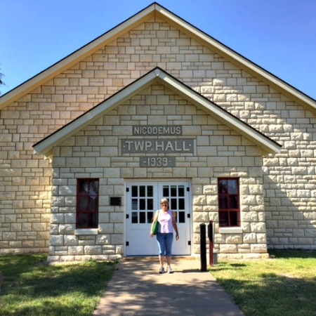Nicodemus Township Hall, National Historic Site, Kansas