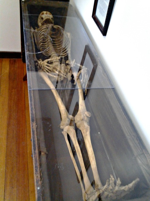 Odd Fellows Home Liberty Missouri skeleton artifact