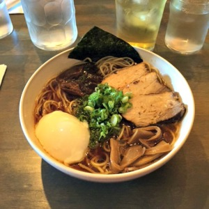 Shoyu Ramen bowl at Shio in Kansas City