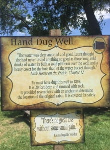 Pa's Hand Dug Well, Independence KS
