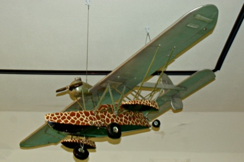 Osa Johnson Airplane, Safari Museum, Chanute, KS