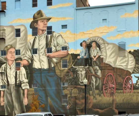 St Jo Mural 1