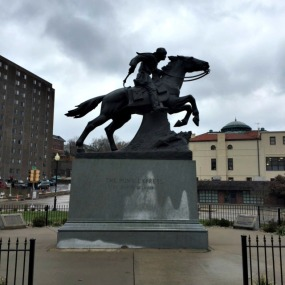Pony Express Monument St. Joseph MO