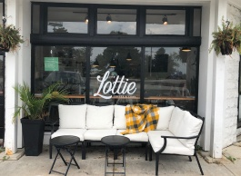 The Lottie exterior
