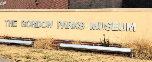Gordon Parks Museum sign
