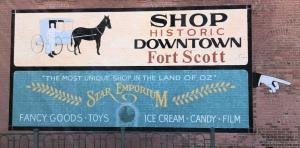 Shop Ft Scott Sign